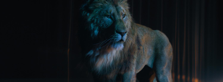 THE GOLDEN LION: 3D WORK BY LIGHTCUT FILM