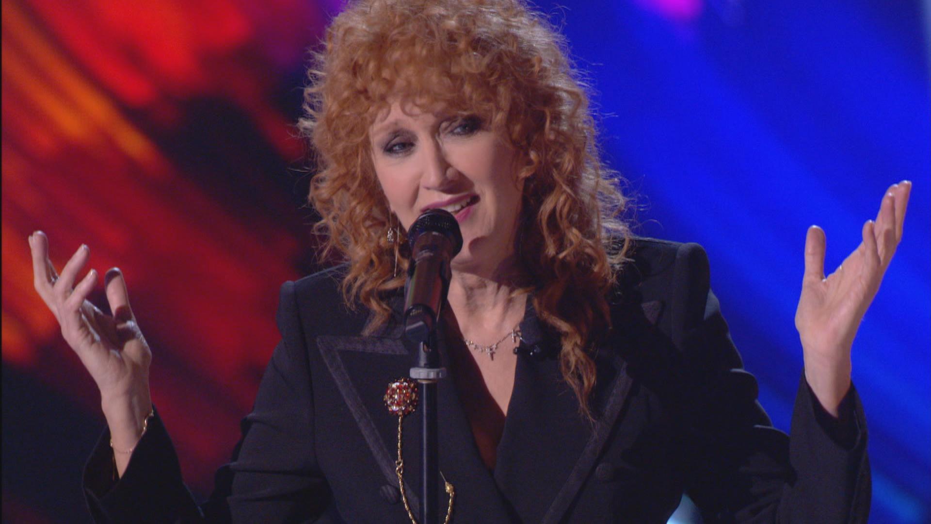 Fiorella Mannoia performance